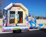 Basket ball Combo Bounce house
